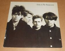 Echo & The Bunnymen Poster 2-Sided Flat Square 1987 Promo 12x12