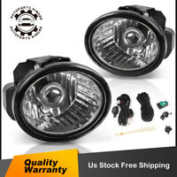 for 2002 2003 2004 Nissan Altima Infiniti Clear Bumper Fog Lights Lamps w/ Bulbs
