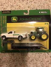 Ertl 1/64 Die Cast John Deere Dealer Truck Trailer 6420 Tractor