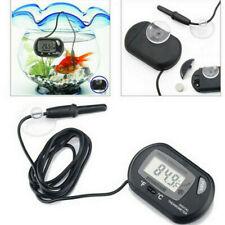 1X LCD Digital Fish Tank Reptile Aquarium Water Meter Thermometer Temperature