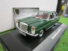 MERCEDES BENZ 200D vert 1968 o 1/43 SOLIDO S4300600 voiture miniature collection