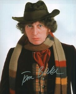 Tom Baker Autographed Signed 8x10 Photo ( Doctor Who ) REPRINT