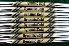 "NEW 4-SW TRUE TEMPER TOUR ISSUE DYNAMIC GOLD S400 .355"" TAPER TIP IRON SHAFTS"