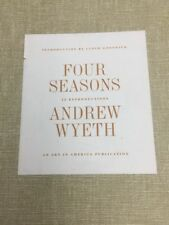 Andrew WYETH Four Seasons Original Lithographs 10 ART PRINTS Vintage Book 1962