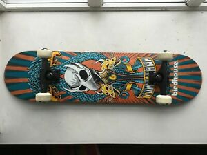 "BIRDHOUSE Tony Hawks styled Complete Skateboard 7.75"""