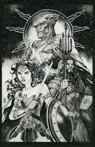 (2021) JUSTICE LEAGUE #59 1:100 JIM LEE SNYDER CUT VARIANT COVER