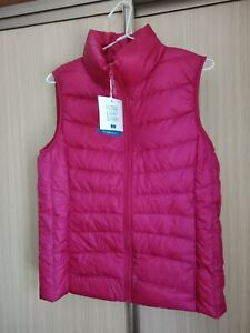 Uniqlo Women's Ultra Light Duck Down Puffer Vest - Hot Pink AUS Size S/M BNWT