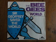 BEE GEES  WORLD  45 tours vinyl collector