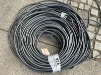 6 meter LEONI  speaker cable vintage audio Siemens