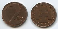 G4222 - Österreich 2 Groschen 1924 (200 Kronen) KM#2833 TOP 1.Republik 1918-193
