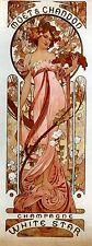 Art Nouveau ' Moet & Chandon White..' by Alphonse Mucha