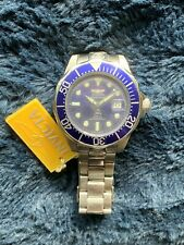 Invicta Pro Diver Blue Men's Watch - 3045 Plus Extra Watch Band