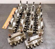 Charlevoix Machine Products Robotic's Lot Of 14 Air Line Connector Routing Clamp