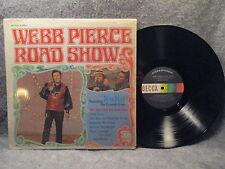 33 RPM LP Record Webb Pierce Road Show Decca Records DL 75280