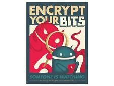 ANDROID FOUNDRY ENCRYPT YOUR BITS POSTER