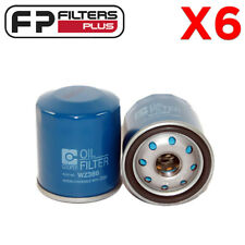 6 x WZ386 Oil Filter Suits Toyota Corolla, Prius, Rav4, Yaris Z386, 90915YZZE1