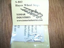 Tomar S Scale Hayes Wheel Stops 4 pack Cast metal #S-803 Bob The Train Guy