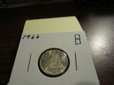 1966 Canada Silver Dime Graded as Brilliant Uncirculated From Original Roll