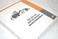 Case Motor Grader Service Training Detailed Manual 845 865 885 NEF Engines