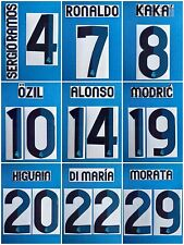 Real Madrid 2012-13 Name Set Home SportingID  Player Issue  Ronaldo