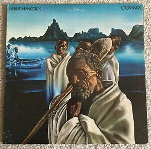Herbie Hancock - Crossing Gatefold 1972 LP BS 2617 Original Press Jazz Funk VG+