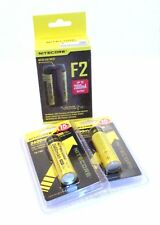 Nitecore F2 Power Bank Charger and 2x NL186 Batteries