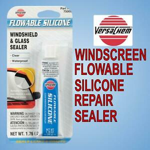 Flowable Silicone Windscreen Sealer Versachem 1.76oz. (50g)