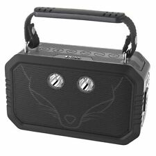 DOSS Wireless Portable Bluetooth Speaker Waterproof IPX6 20W Stereo Sound Black