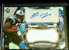 2015 Devin Funchess Topps Finest Auto Jumbo Relic Refractor SP/60 RC Panthers