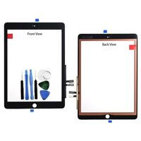 For iPad 9.7 2018 Touch Screen Digitizer Glass Panel Black 6th GEN A1893 + Tools