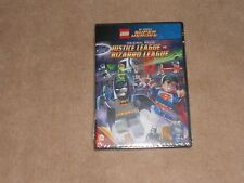 New, Lego Dc Comics Super Heroes Original Movie Justice League Bizarro Leag, Dvd