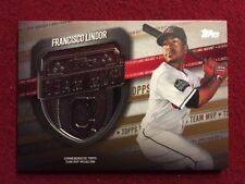 Francisco Lindor 2018 Topps Series 2 Team MVP Medallion GOLD #/50 Indians MVP-FL