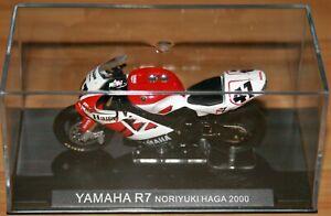 NORIYUKI NORI HAGA YAMAHA R7 2000 1:24 IXO Motorbike - Rare