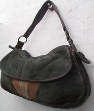 -AUTHENTIQUE  sac à main vintage COCCINELLE  daim TBEG   bag