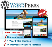 Websites - Easy to Build WordPress or eStore Sites - No Monthly Bills - BE SEEN