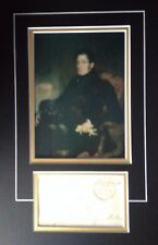 3rd EARL GEORGE CADOGAN - NAVAL ADMIRAL & MP - EXCELLENT SIGNED PHOTO DISPLAY