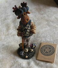 Boyds Bears Folkstone Collection Ziggy The Duffer #2838