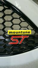 Ford Focus Fiesta ST RS Mountune Grille Badge kit New Style MP MR Tuning #I