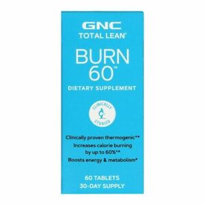 GNC Total Lean Burn 60 Dietary Supplement 60 Tablets