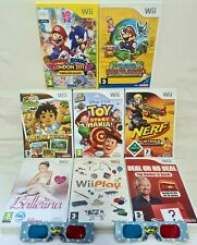 Wii GAMES BUNDLE FAST AND FREE POSTAGE ✅ GREAT BUNDLE AT A GREAT PRICE