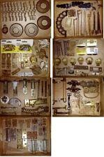 Huge Vtg Old House Part Lot~Window Door Furniture Lights~Brass Iron Victorian