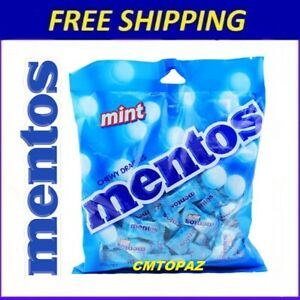 MENTOS Bag Mint Candy 405g Chewy Dragees Candy Lollies FREE SHIPPING