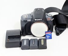 Sony A330 10.2MP Digital SLR Camera Body Only and Items Shown
