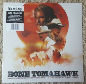 BONE TOMAHAWK  SOUNDTRACK  Blood & Bone Swirl LTD LP Vinyl RSD 2021 NEW & SEALED