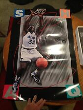 """Shaq 1993 Orlando Magic Costacos Brothers 2"""" X 3"""" Poster-4 Corner Letters"""