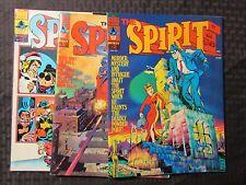 1974 THE SPIRIT Warren Magazine by Wil Eisner LOT of 3 #2 VF #3 FVF #12 VF+