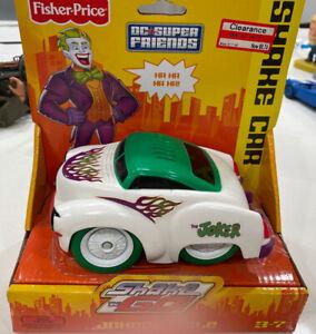 "Batman Shake 'N Go ""The Joker"" Car 2010 DC Comics Mattel"