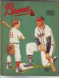 1952 BOSTON BRAVES YEARBOOK