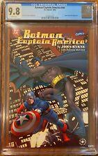 Batman/Captain America #nn CGC 9.8 WP (Crossover w/ Joker & Red Skull Appearance