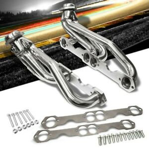 Manzo Stainless Steel Exhaust Header Manifold For 88-97 Chevrolet C1500 Pickup